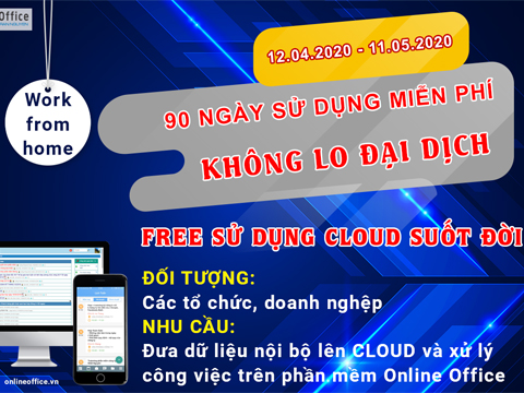 Online Office hỗ trợ doanh nghiệp mùa dịch Covid-19